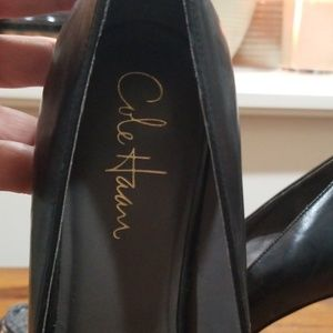 Cole Haan Shoes - Cole Haan Nike Air Black heel worn a few times